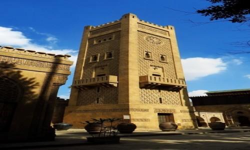 Zdjęcie EGIPT / Kair / Kair / pałac Muhammada Alego - wieża zegarowa
