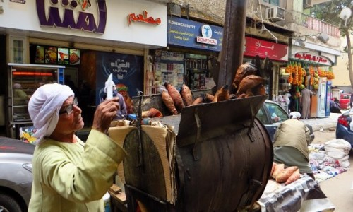 Zdjecie EGIPT / Kair / Kair / ulice Kairu