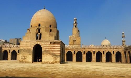 Zdjecie EGIPT / Kair / Kair / meczet Ahmada ibn Tuluna - dziedziniec