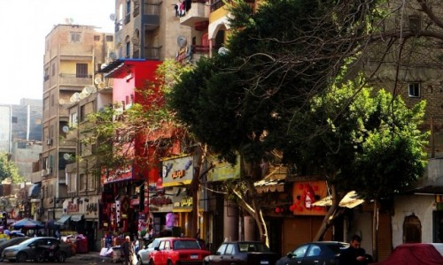 Zdjęcie EGIPT / Kair / Kair / ulice Kairu