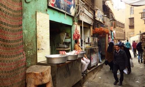 Zdjęcie EGIPT / Kair / Kair - dzielnica muzułmańska / ulice dzielnicy muzułmańskiej