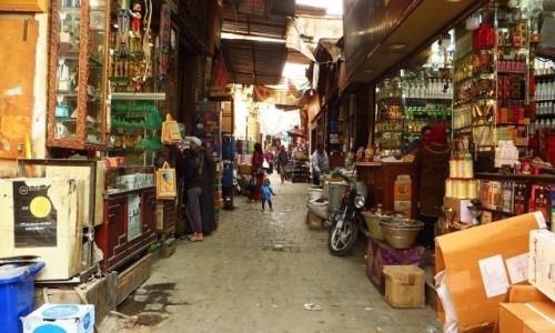 Zdjęcie EGIPT / Kair / Kair - dzielnica muzułmańska / bazar Chan al-Chalili