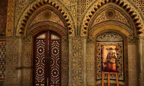 Zdjęcie EGIPT / Kair / Kair - dzielnica koptyjska / kościół Najświętszej Maryi Panny