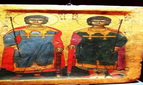 Zdjęcie EGIPT / Kair / Kair - Muzeum Koptyjskie / ikony VIII - XII wiek