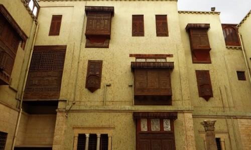 Zdjęcie EGIPT / Kair / Kair - Muzeum Koptyjskie / Muzeum Koptyjskie - dziedziniec