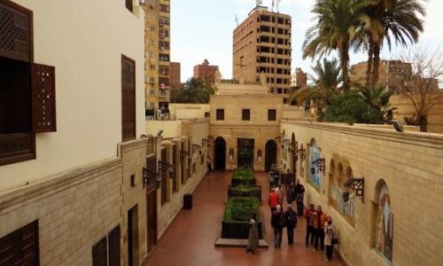 Zdjecie EGIPT / Kair / Kair - dzielnica koptyjska / kościół Najświętszej Maryi Panny