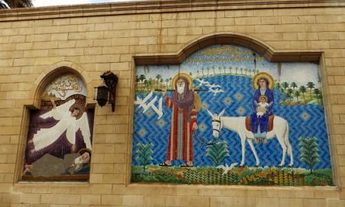 Zdjęcie EGIPT / Kair / Kair - kościół Najświętszej Maryi Panny / kościół Najświętszej Maryi Panny -Święta Rodzina