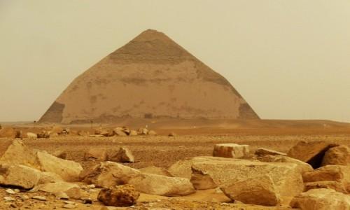 Zdjecie EGIPT / Nekropolia Memficka / Dahszur / Piramida Łamana