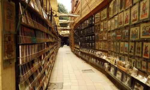 Zdjęcie EGIPT / Kair / Kair - dzielnica koptyjska / ulice dzielnicy koptyjskiej