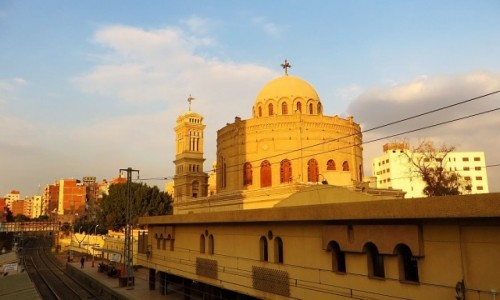 Zdjecie EGIPT / Kair / Kair - dzielnica koptyjska / klasztor św. Jerzego