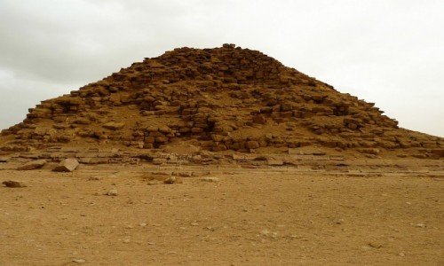 Zdjecie EGIPT / Nekropolia Memficka / Dahszur / Piramida Sezostrisa III