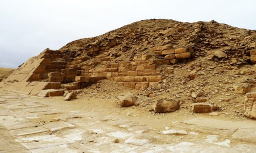 Zdjecie EGIPT / Nekropolia Memficka / Sakkara / Piramida Unisa