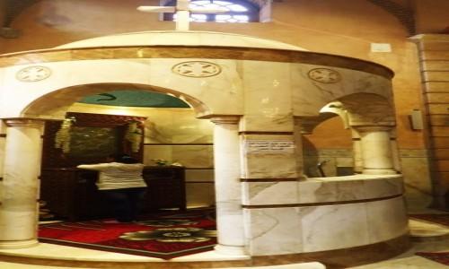 Zdjecie EGIPT / Kair / Kair - dzielnica koptyjska / kościół Maryi Niepokalanej - modlitwa