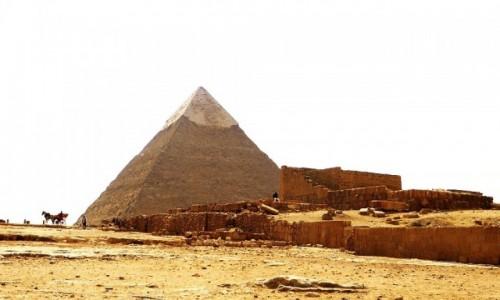 Zdjecie EGIPT / Nekropolia Memficka / Giza / Piramida Chefrena