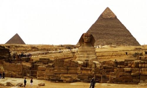 Zdjecie EGIPT / Nekropolia Memficka / Giza / Sfinks
