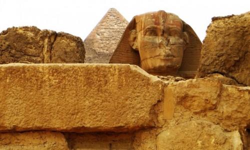 EGIPT / Nekropolia Memficka / Giza / Sfinks