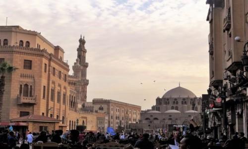 EGIPT / Kair / fragment starego miasta / Stary Kair - może zaciekawić
