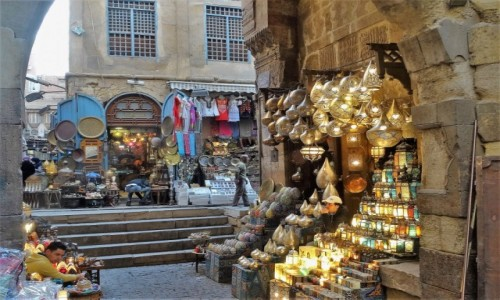 EGIPT / Kair / suk / Stary Kair - może zaciekawić