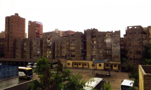 Zdjecie EGIPT / Kair / Giza / współczesna architektura Gizy