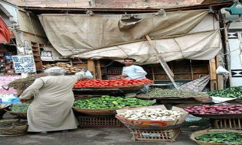 Zdjęcie EGIPT / Asuan / targ / wszelkie dobra tu kupisz/miejscowy targ