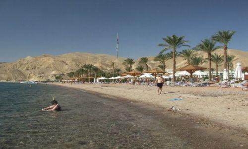 Zdjecie EGIPT / Płw. Synaj / Taba / Relaksik na plaży