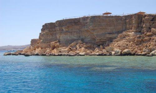 Zdjecie EGIPT / Egipt / Red Sea / Klif