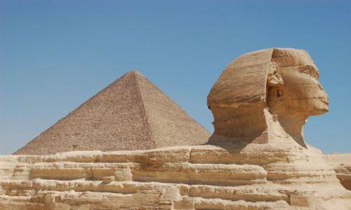 Zdjecie EGIPT / Kair / Giza / Sfinks