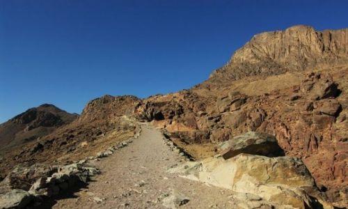 Zdjecie EGIPT / Egipt / góra Synaj / Wejście na górę Synaj