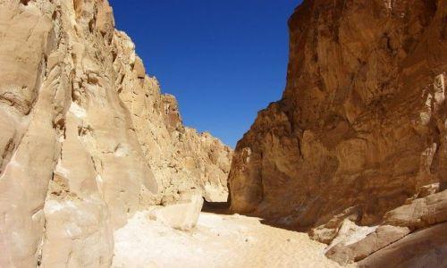 Zdjecie EGIPT / Synaj / Biały Kanion / Biały Kanion