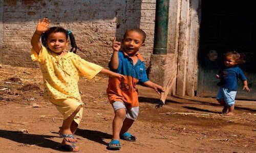Zdjecie EGIPT / Górny Egipt / Okolice Dandary / Dzieci