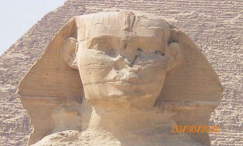 Zdjecie EGIPT / brak / Kair / sfinks