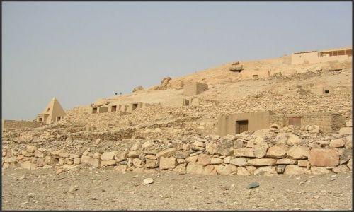 Zdjęcie EGIPT / Egipt - część wschodnia / Deir el Medina / Miasto rzemieślników