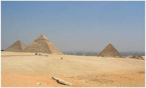 Zdjęcie EGIPT / Egipt północny / Kair Giza / Piramidy w Gizie
