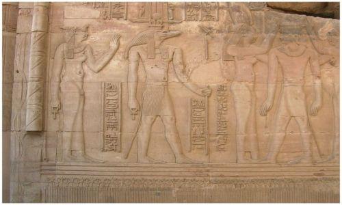 Zdjęcie EGIPT / Egipt wschodni / Kom Ombo  / Sobek krokodylogłowy