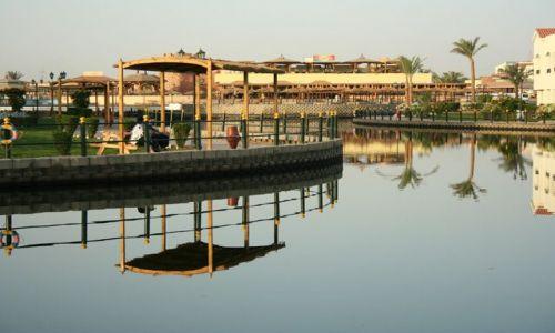 Zdjęcie EGIPT / Hurghada / Dana Beach Resort / Poranek