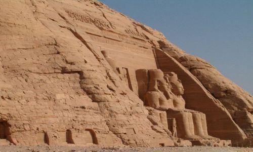 Zdjecie EGIPT / brak / Abu Simbel / Swiątynia