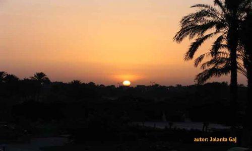 Zdjecie EGIPT / Luksor / Luksor / Wschód słońca