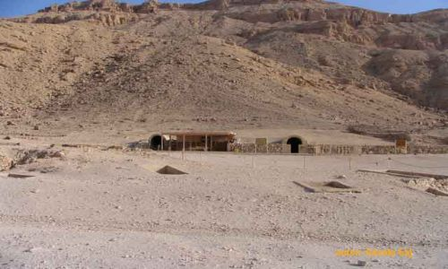 Zdjecie EGIPT / Luksor / Luksor / Dolina Królowych