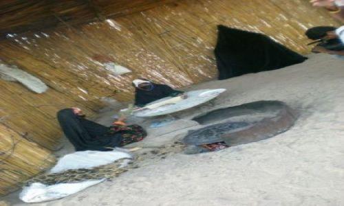 Zdjecie EGIPT / brak / wioska beduińska / piekarnia