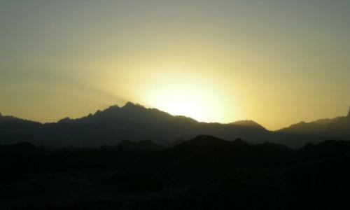 Zdjecie EGIPT / -góty Atbaj / góry Atbaj / Zachód