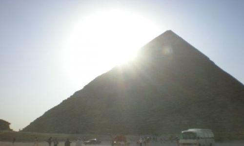 Zdjecie EGIPT / brak / KAir/Giza / piramida