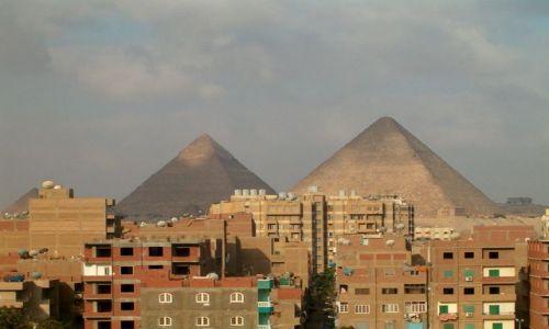Zdjęcie EGIPT / Kair / Giza / Piramidy