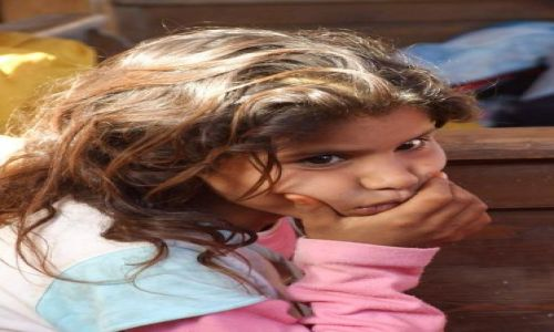 Zdjecie EGIPT / Synaj / Dahab / Mała Beduinka