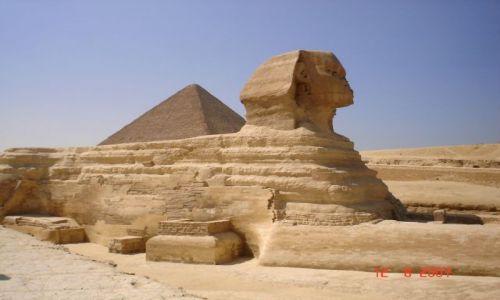 Zdjęcie EGIPT / Kair / Giza / Sfinks