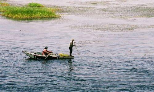 Zdjęcie EGIPT / Nil / Nil / rybacy