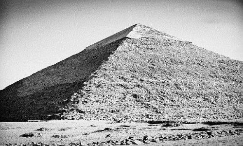Zdjecie EGIPT / Kair, Giza / Giza / Piramida Chefrena