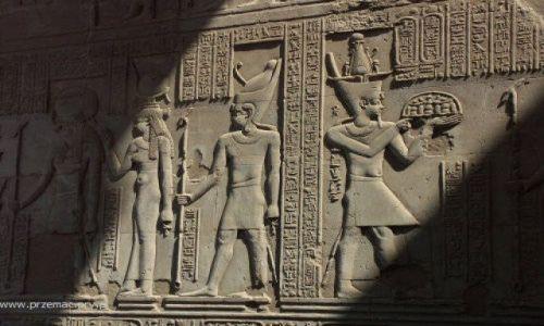 Zdjecie EGIPT / brak / Kom Ombo / Reliefy
