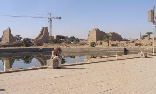 Zdjecie EGIPT / Teby / Teby / Świete Jezioro