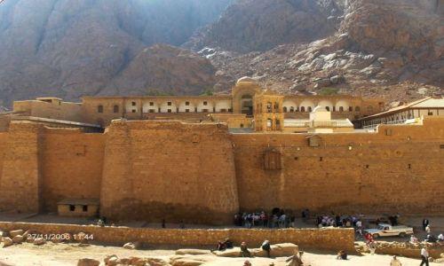 Zdjęcie EGIPT / brak / Synai / Synai,Klasztor Sw. Katarzyny