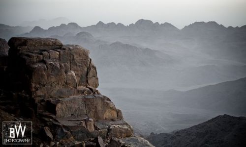Zdjecie EGIPT / SYNAJ / góry Synaj / Wokół góry góry i góry